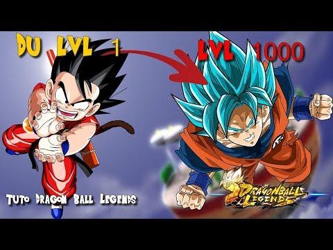 Tuto Xp lvl 1000 + astuce Dragon ball legends