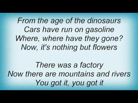 Talking Heads - Flowers Lyrics