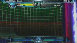 EVO 2012 UMVC3 Pools - coL.CC Filipino Champ vs MC X-Ray
