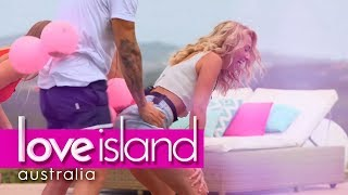 Villa games: Who can balloon thrust the best? | Love Island Australia 2018