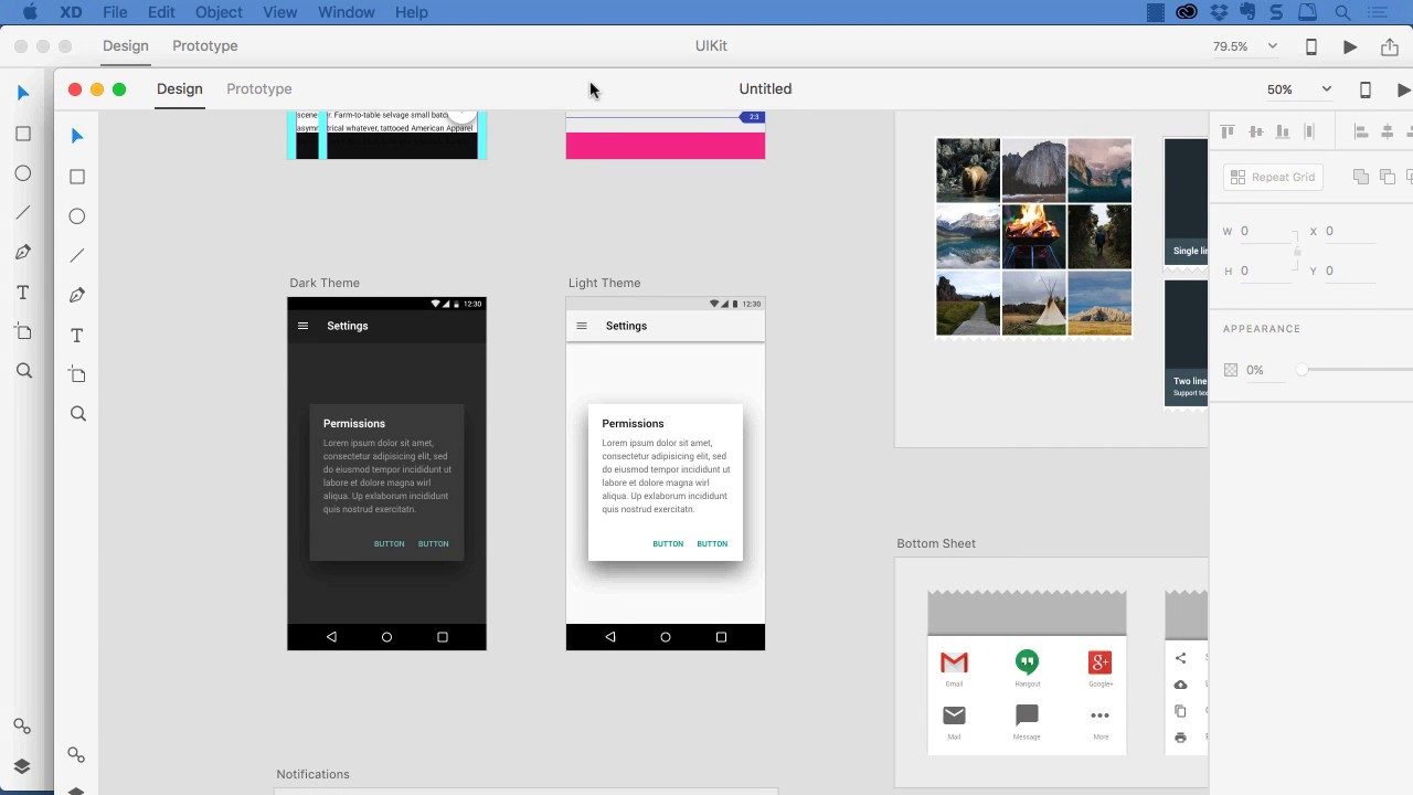 Adobe Experience Design Messin With The Ui Kits Youtube