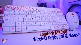 Logitech MK240 Wireless Keyboard and Mouse   Data Dock