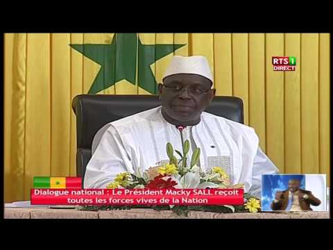 Dialogue National: Discours de cloture du Pr Macky SALL