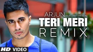 Download Teri Meri Remix Song | Arjun Feat. Priti Menon | Bodyguard