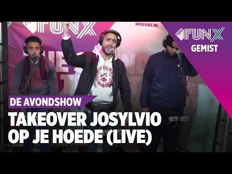 JOSYLVIO TAKEOVER - OP JE HOEDE FT HEF & MOEMAN (LIVE)