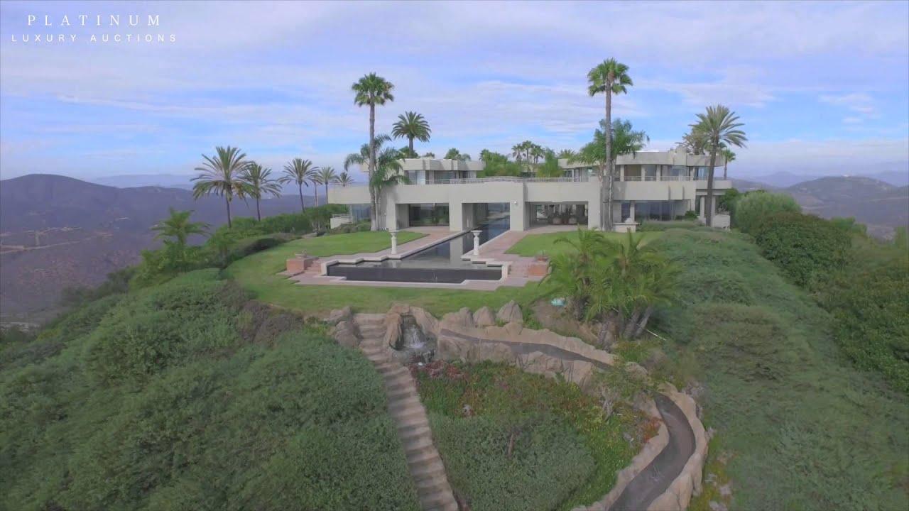 Platinum Luxury Auctions: Paint Mountain Mansion ...