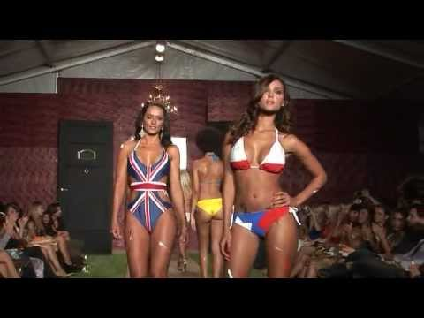 ICTV1 WET COUTURE SWIMWEAR FUNKSHION FASHION WEEK MIAMI BEACH FLORIDA