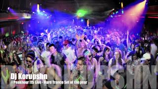 Dj Korupshn   Live @ Peakhour i15 Hard Trance Year Mix - Imagination 15