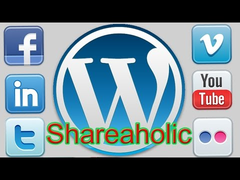 How to Install and Setup Shareaholic WordPress Social Media Plugin 2015