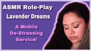 ASMR │Lavender Dreams │Spa Role-Play │Rain Sounds 💜