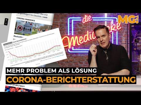 CORONA-Berichterstattung: Mehr PROBLEM als Lösung!