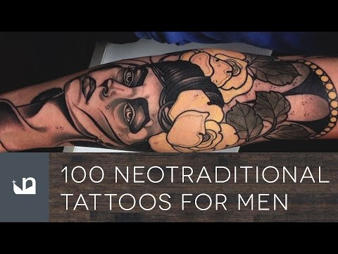 100 Neo Traditional Tattoos For Men