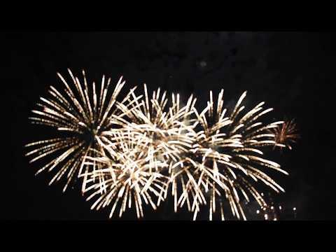 New Year's Firework Show in Sacramento, CA 2018