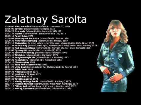 Zalatnay Sarolta - Nagy válogatás (27 dal) 1967 - 1988 mp3 letöltés