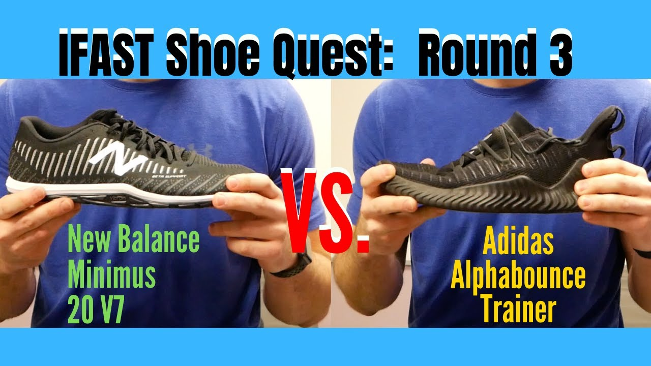 IFAST Shoe Quest 3: Adidas Alphabounce