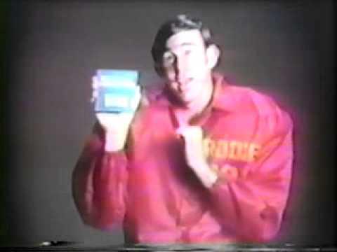 Old gillette platinum plus razor commercial - John Brodie