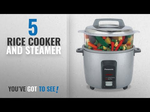 Top 10 Rice Cooker And Steamer [2018]: Panasonic SR-Y18FHS 660-Watt Automatic Electric Cooker 4.4