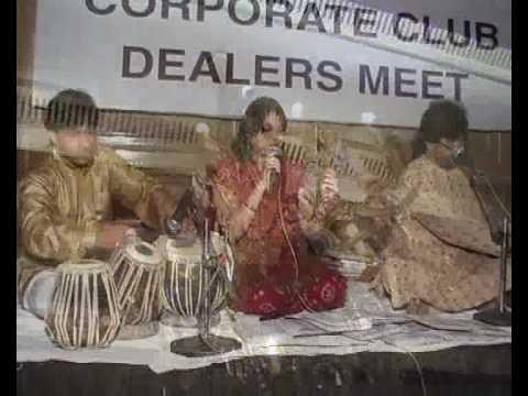 Aye Dil Mujhe Bata De- Suman Singh At Hotel Taj, Lucknow On 21.5.2010.flv