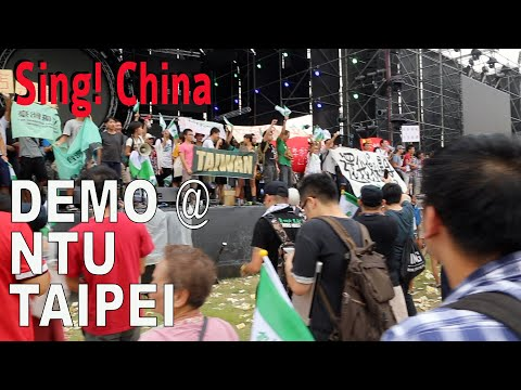 Outside TV broadcast  Sing! China, Taipei, Taiwan