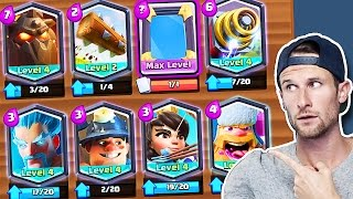 ALL LEGENDARY DECK :: Clash Royale :: LEGENDARY CHALLENGE WITH NICK