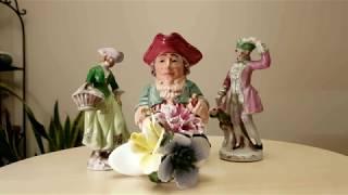 # 5. Блошиные рынки - удачные находки. Красота стафордширского фарфора. Привет из 17 века!