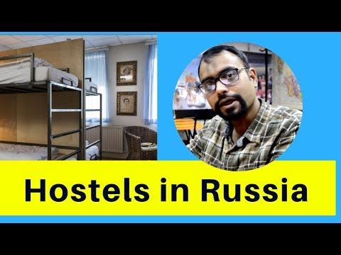 What type of accommodations are available in Russia specially for students