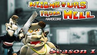 Neighbours From Hell HARDCORE - Season 1 [100% walkthrough]