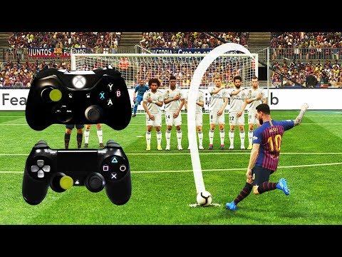 PES 2019 FREE KICK TUTORIAL | Xbox & Playstation | 4K Ultra HD Mp3
