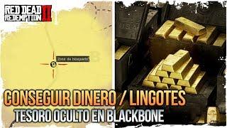 Red Dead 2 Online : DINERO + LINGOTES SECRETOS Y OCULTOS En BLACK BONE ¡SIN TRUCOS! Mapa del Tesoro