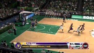 NBA 09 The Inside - Lakers vs. Celtics Gameplay High Quality