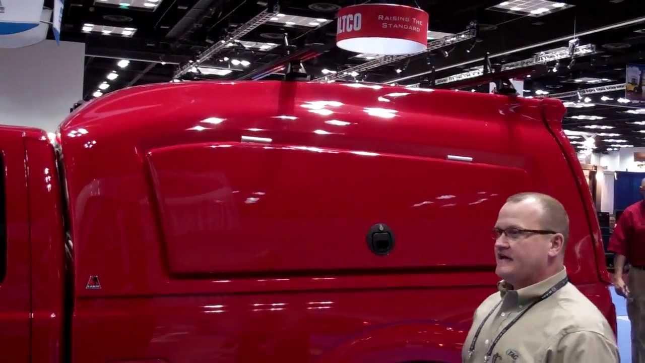 Convoy Fiberglass Shell By Leer - NTEA 2012 - YouTube