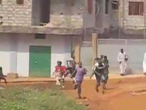 Guinea Violence Jan 2007 en Greve