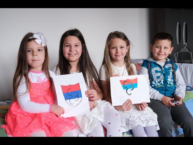 Помоћ с љубављу за мале Батиниће из Сарајева