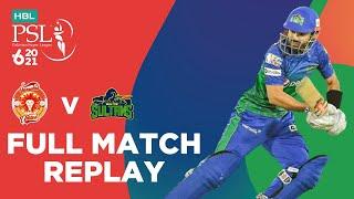FULL MATCH REPLAY –  Slamabad United Vs Multan Sultans Match 3 HBL PSL 6