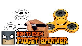 How to Draw Fidget Spinner | Drawing Tutorial