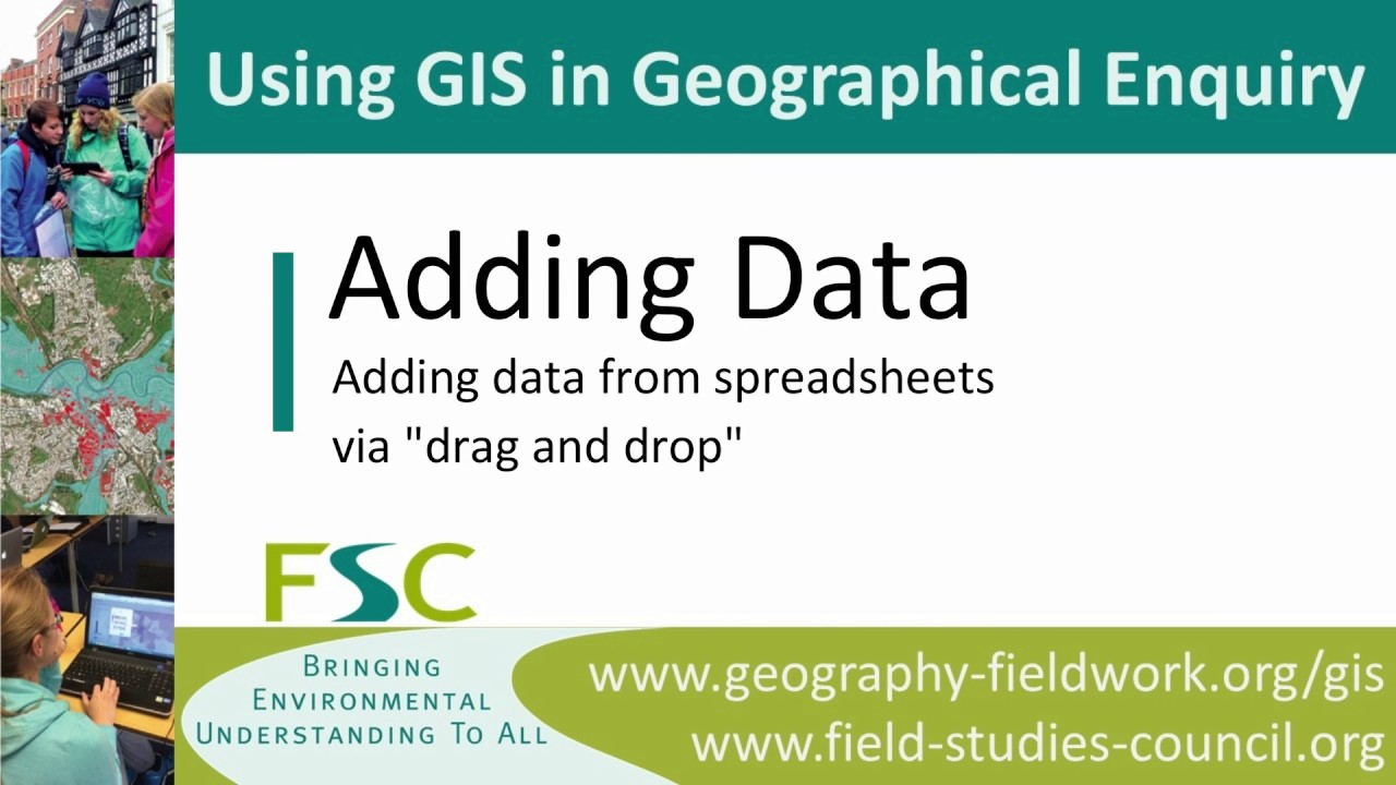 Geography Fieldwork - A Level - Using GIS In Your Planning - FSC