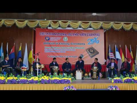 KETIGA INTERNATIONAL ISLAMIC ARTS CARNIVAL 2016 - SBPI kuantan
