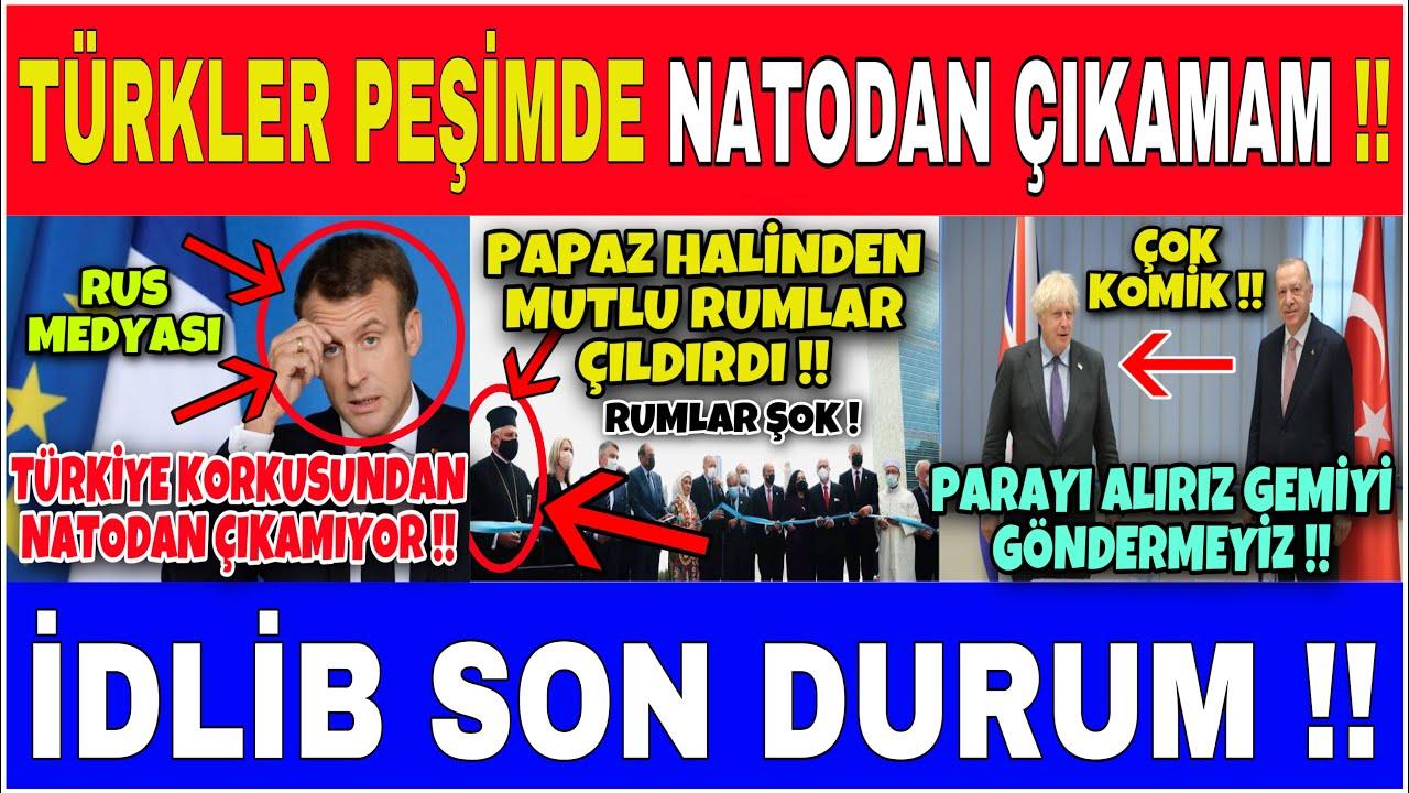 FRANSA TÜRKİYE KORKUSUNDAN NATODAN ÇIKAMIYOR  !! [ RUS MEDYASI ]