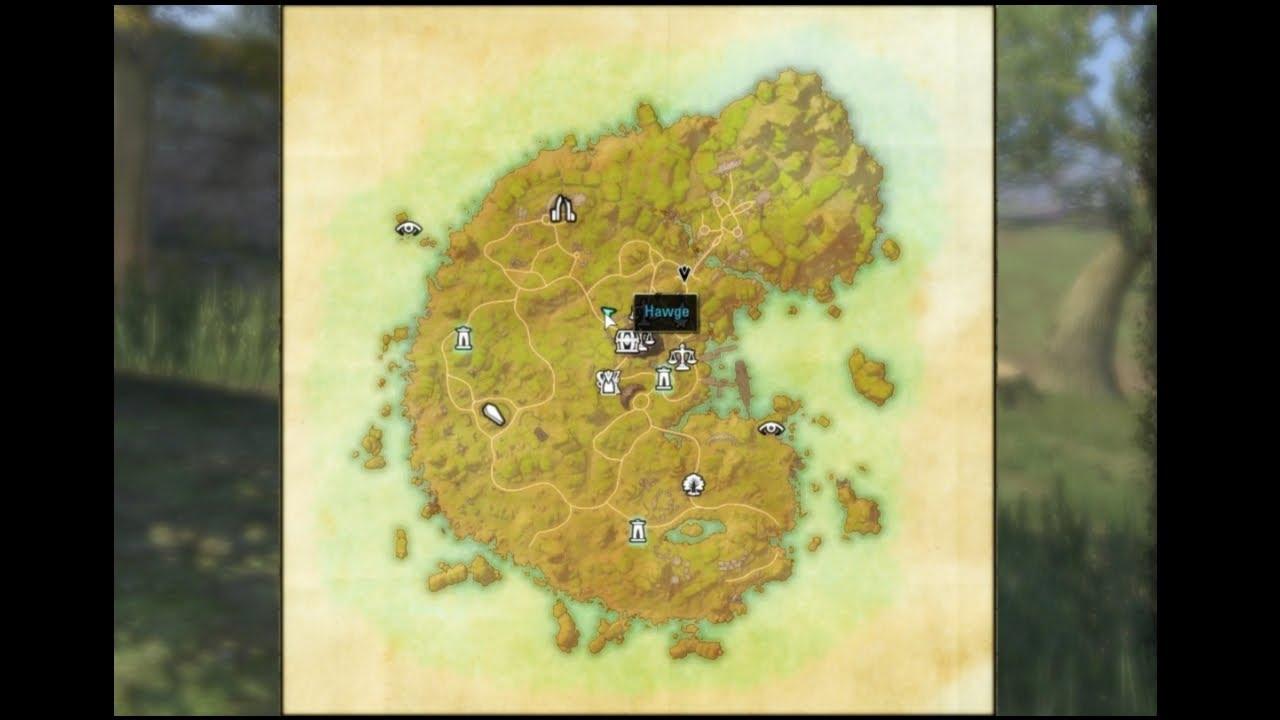 Elder Scrolls Online - CE Treasure Map Betnikh - YouTube