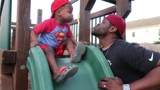 FUNNY DADDY SON MOMENT | Great Black Fathers Do Exist!!! || Black Family Vlogs Charlotte NC
