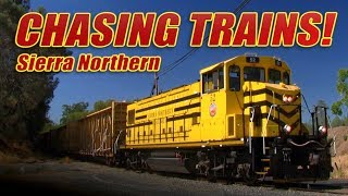 Chasing Trains! Ep 16 Sierra Northern