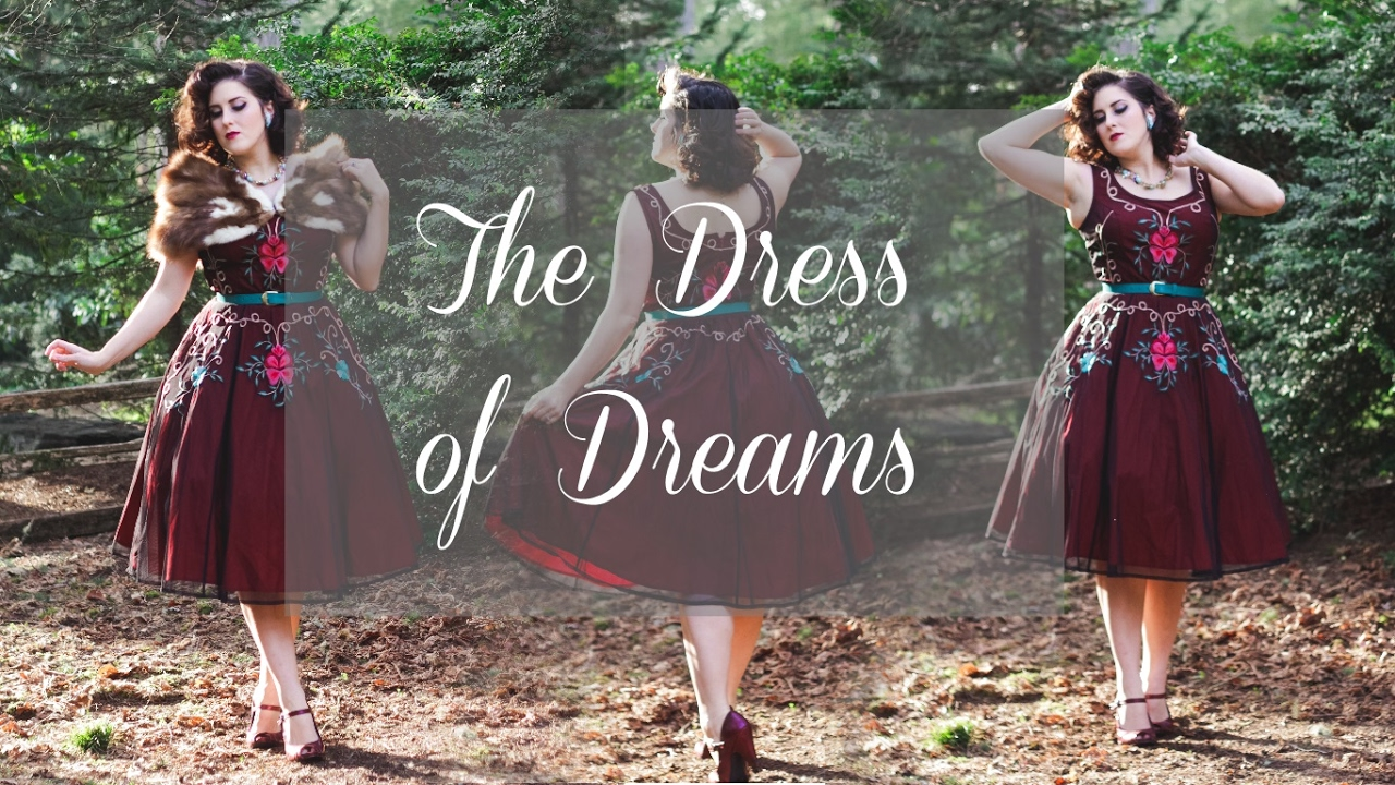 6cf8bc49bd7 The Dress of Dreams - YouTube