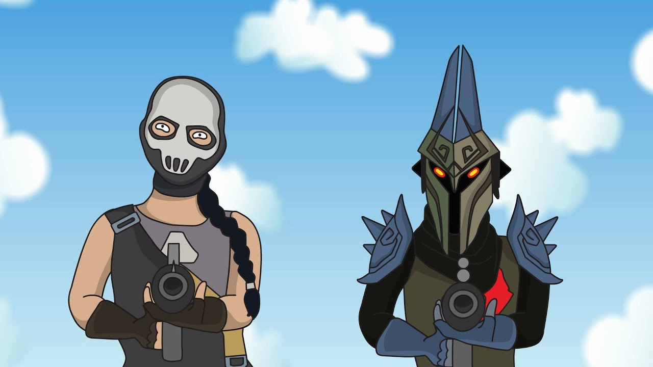 Fortnite Animation Jules and Eternal Knight (Parody)
