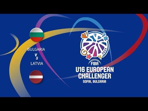 Bulgaria vs. Latvia | FIBA U16 Men's European Challenger