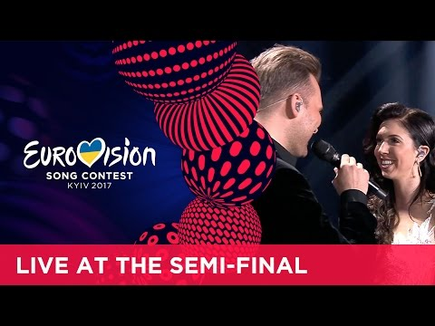 Koit Toome & Laura - Verona (Estonia) LIVE at the second Semi-Final
