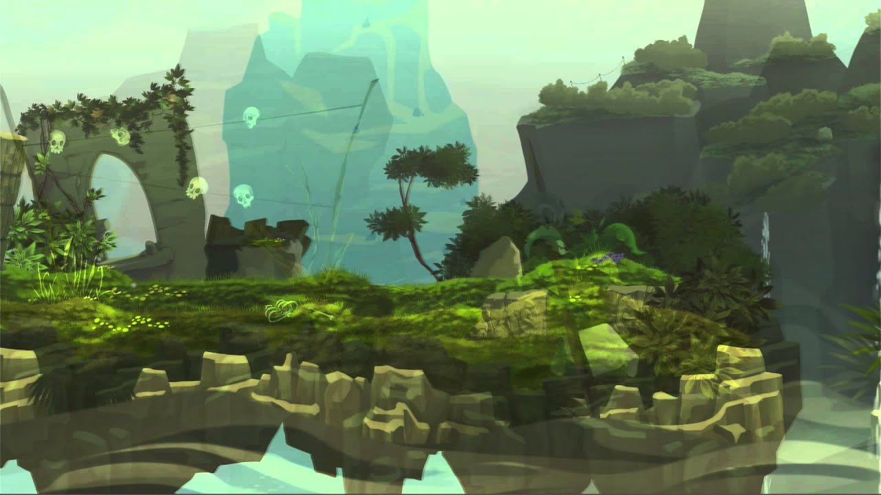 60 Seconds Game >> UniART: 2D Modular Natural Environment Kit preview - YouTube
