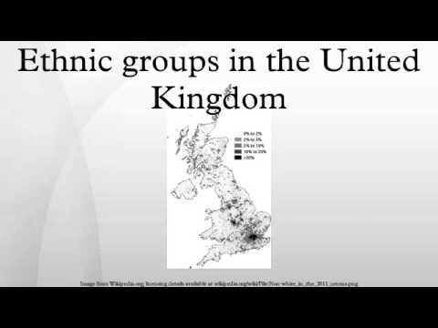 Ethnic groups in the United Kingdom