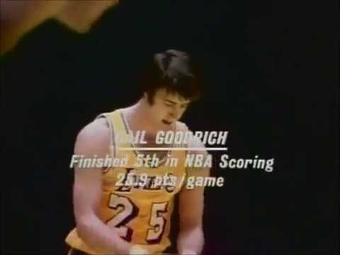 Gail Goodrich vs New York Knicks 1972 finals Game 5 Highlights