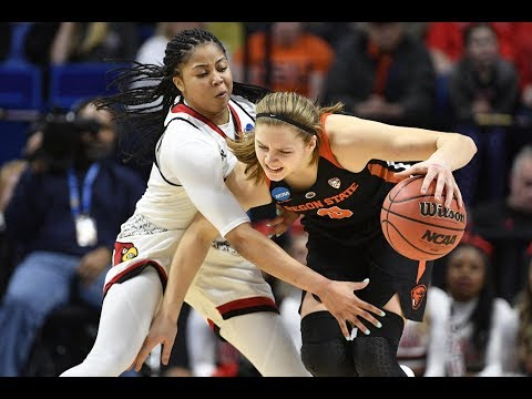 highlights:-oregon-state-women's-basketball-falls-to-top-seeded-louisville-in-ncaa-tournament...