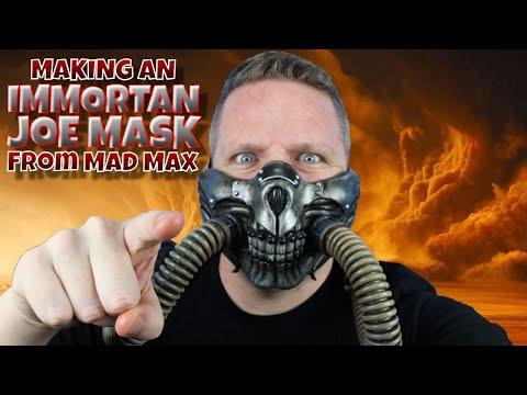Making an Immortan Joe Mask from Mad Max
